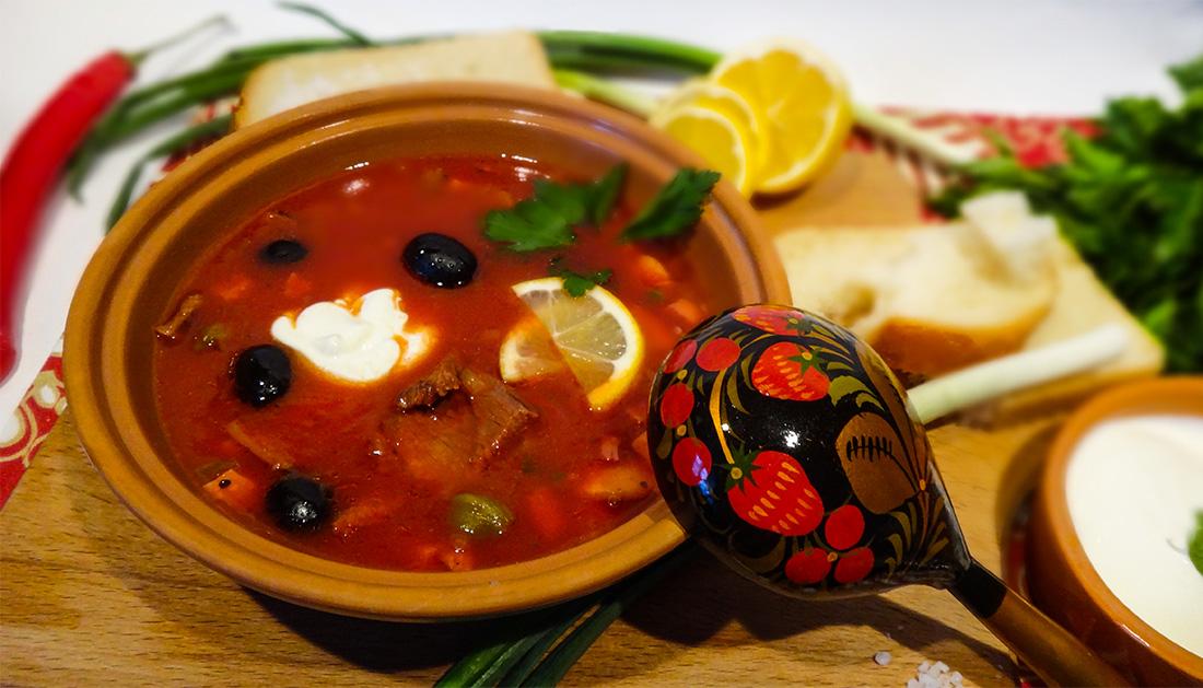 Как приготовить солянку не суп в домашних условиях 382