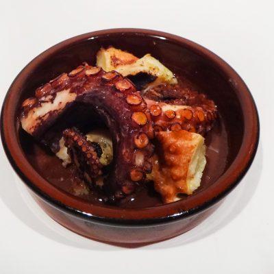 осьминог в соусе