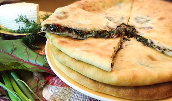 Осетинские пироги с зеленью фото рецепт