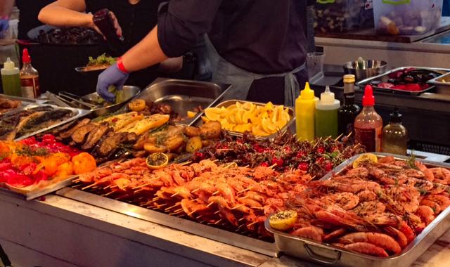 уличная еда фестиваль киев морепродукты