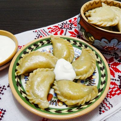 Вареники с маком (Dumplings with Poppy Seeds)