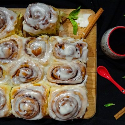 Мягкие булочки с корицей (Soft Cinnamon Rolls)