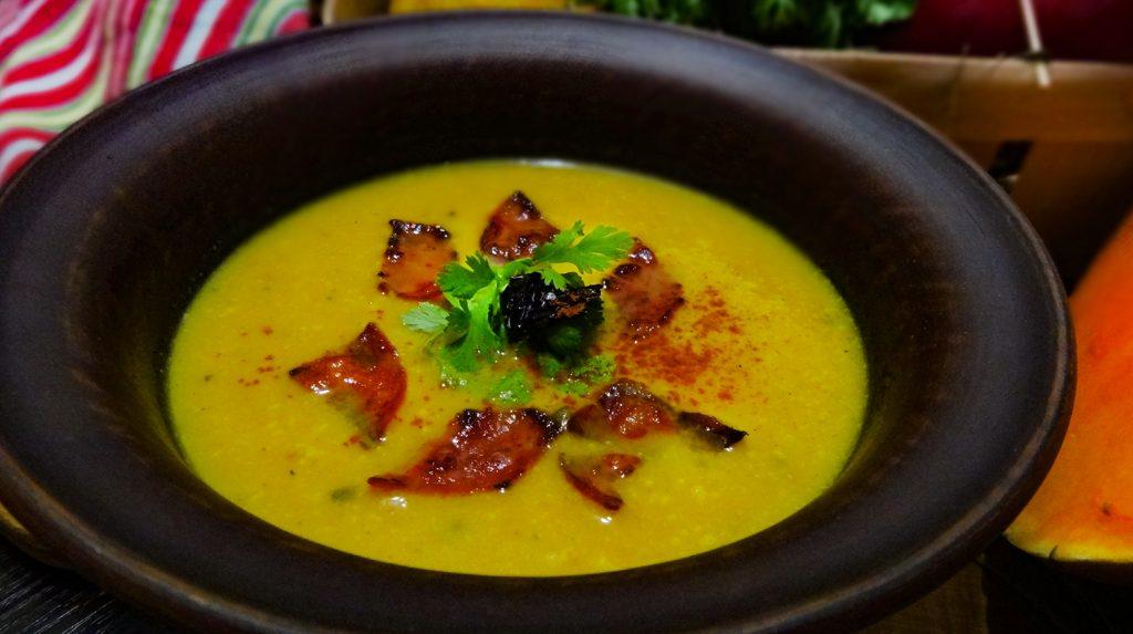 Сопа де Калабаса – Мексиканский тыквенный суп с чоризо ...