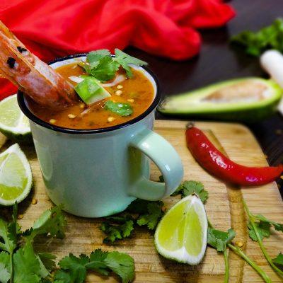 Кальдо де Камарон – мексиканский суп с креветками (Caldo de Camarоn – Mexican Shrimp Soup)