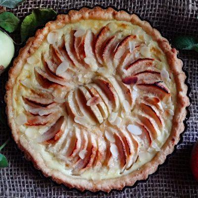 Нормандский яблочный тарт (La Tarte Normande aux Pommes)