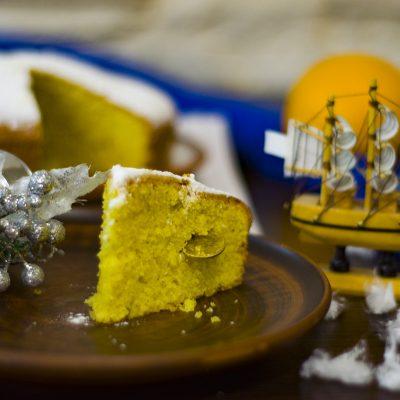 Василопита – греческий новогодний пирог (Vasilopita Greek New Year's Cake)