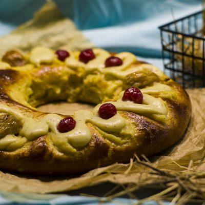Роска де Паска - аргентинский пасхальный хлеб (Rosca De Pascua)