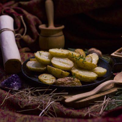 Печёный картофель из Скайрим (Baked Skyrim Potatoes)