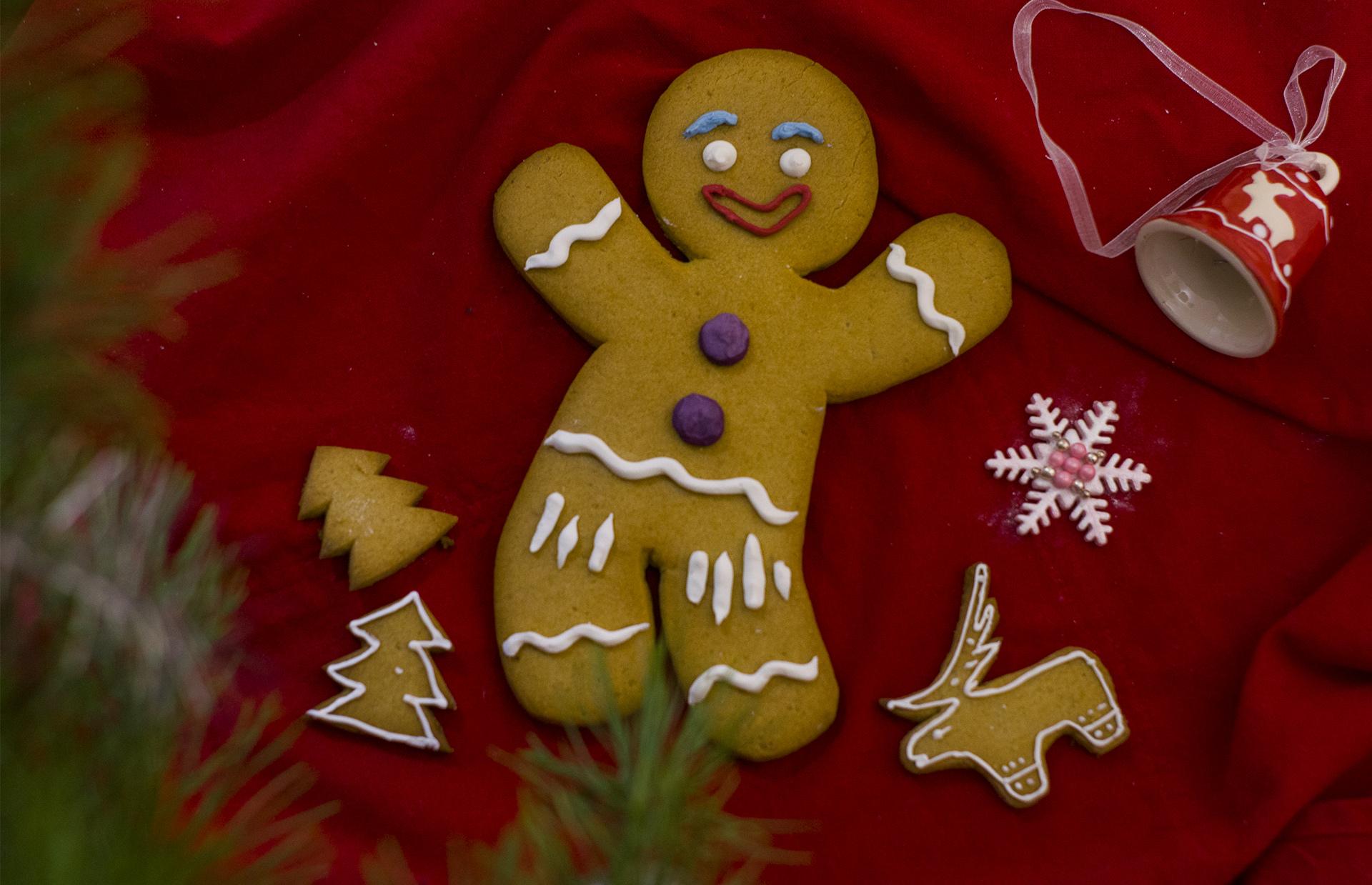 Пряничный человечек (Gingerbread Man)