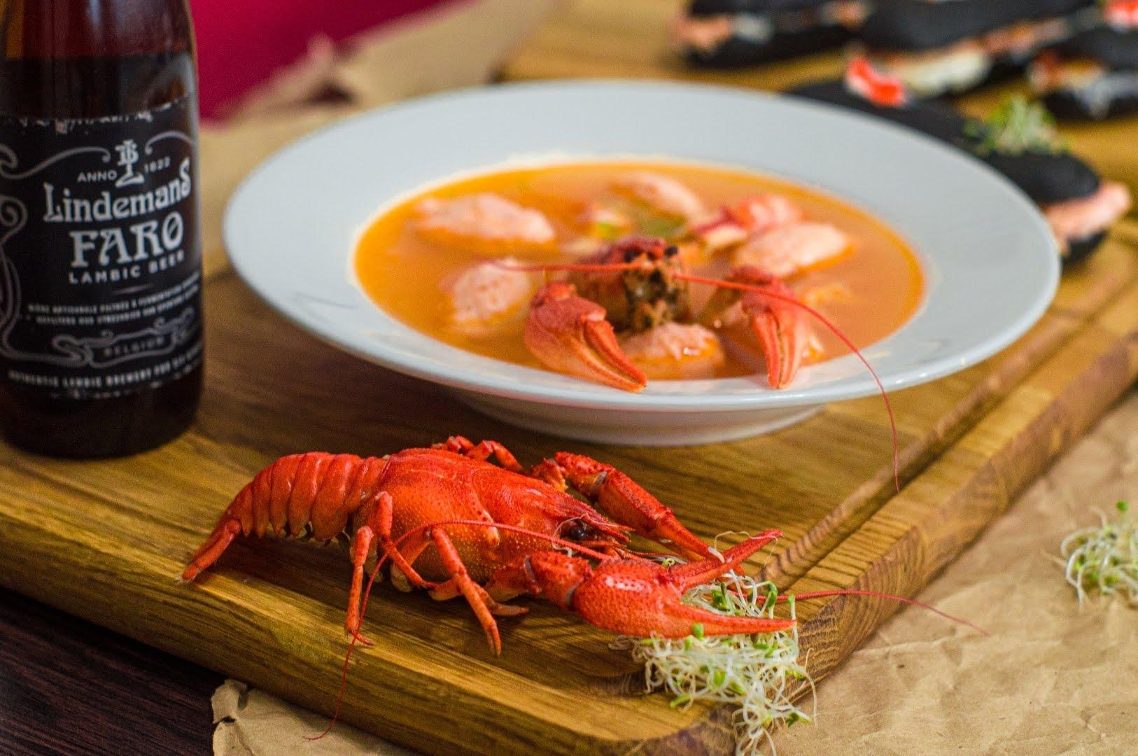Раковый суп (Crayfish soup)