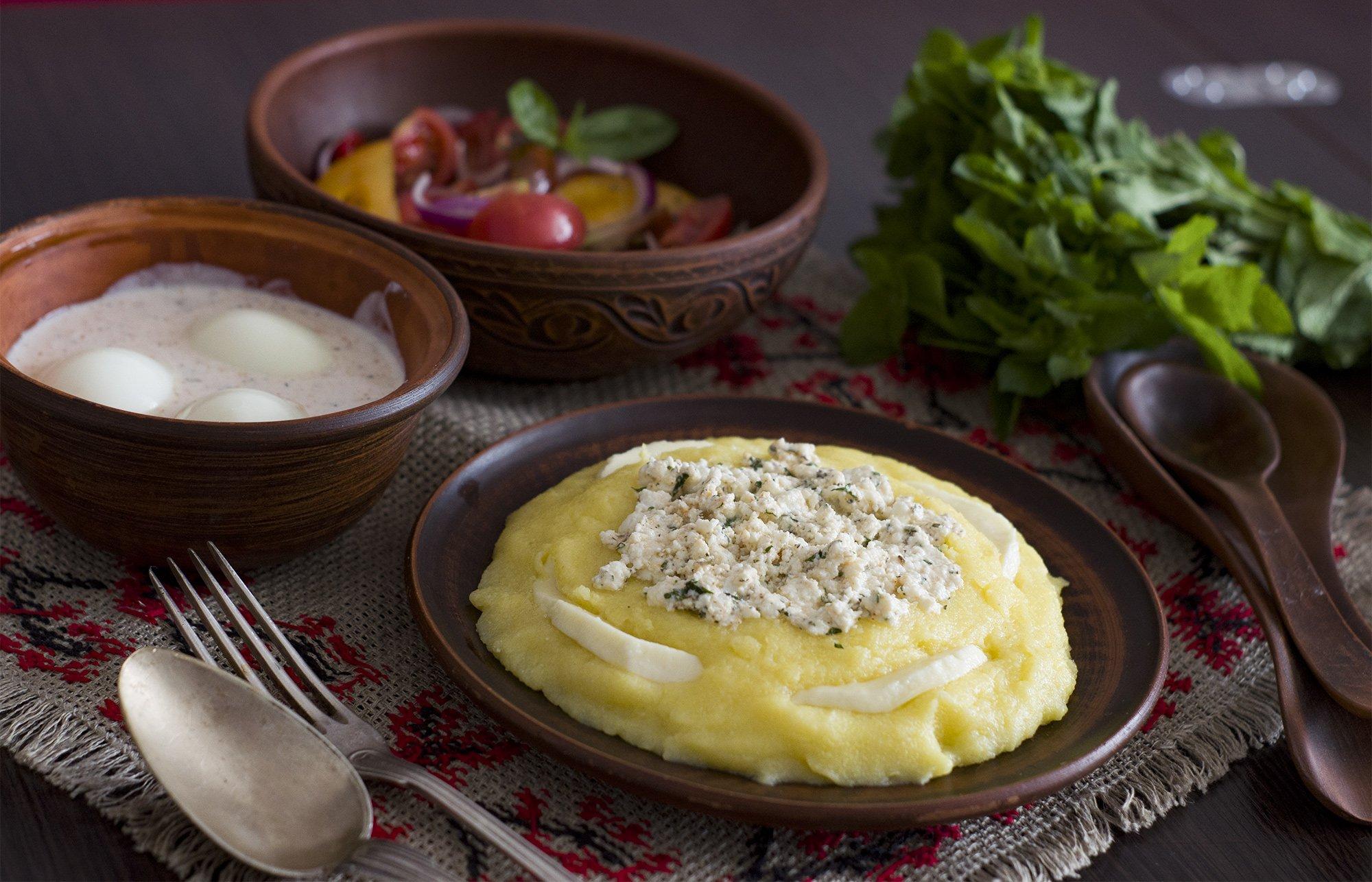 Пучхолия – мегрельская закуска с гоми (Megrelian Pucholia)