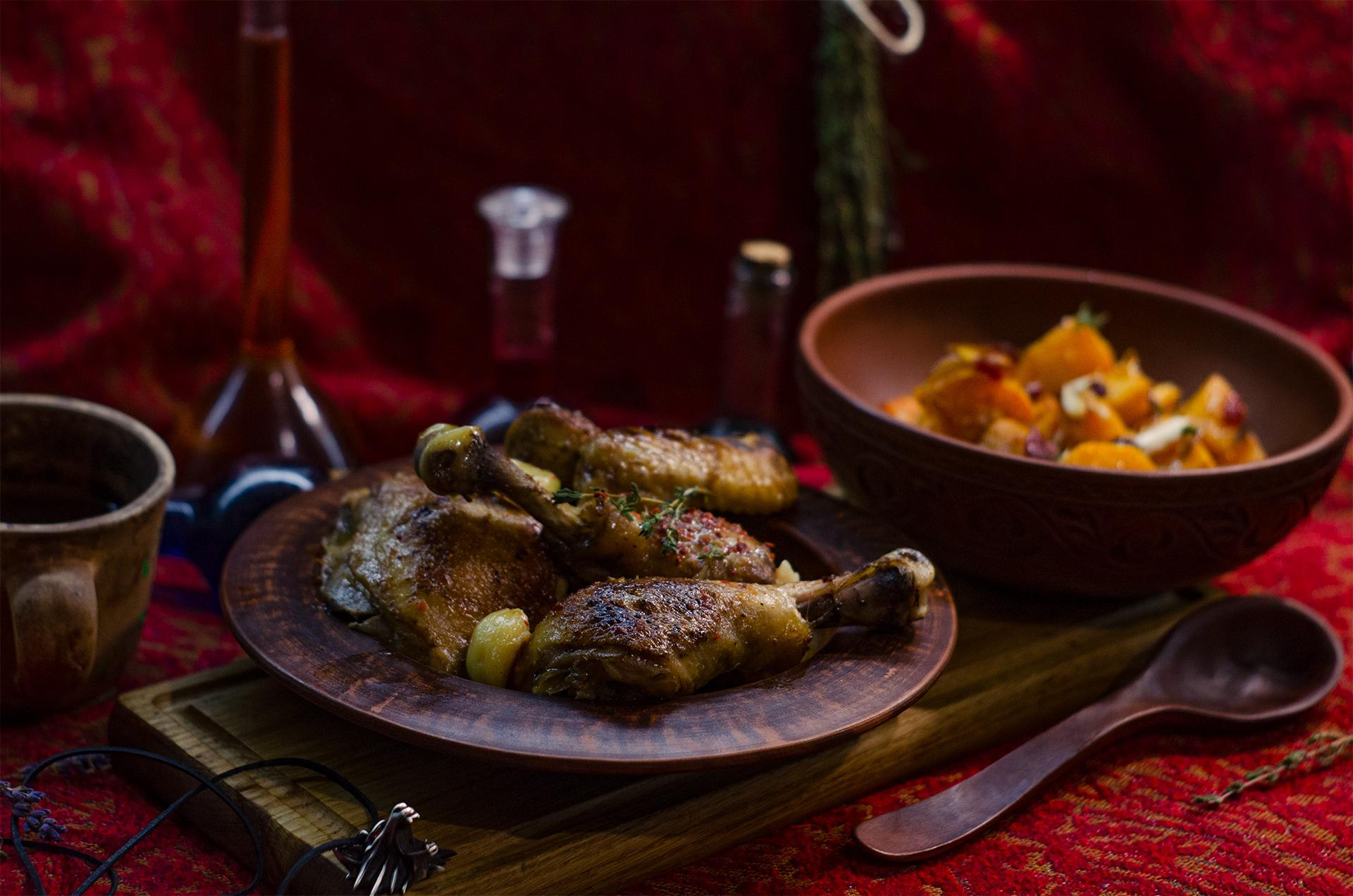 Странный рецепт цыпленка с тыквой из Ведьмака (The Witcher's Mysterious recipe)