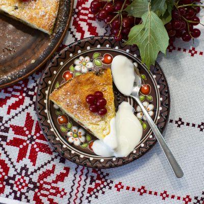 Творожная запеканка (Cottage Cheese Pudding)