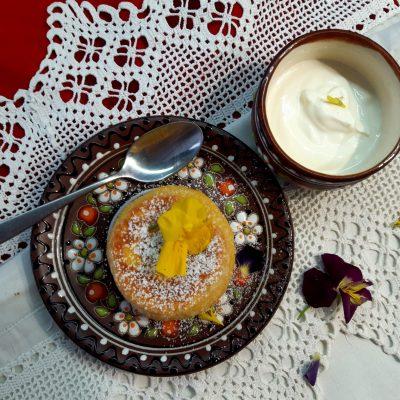 Тыквенная бабка с сыром (Pumpkin Babka with Cottage Cheese)