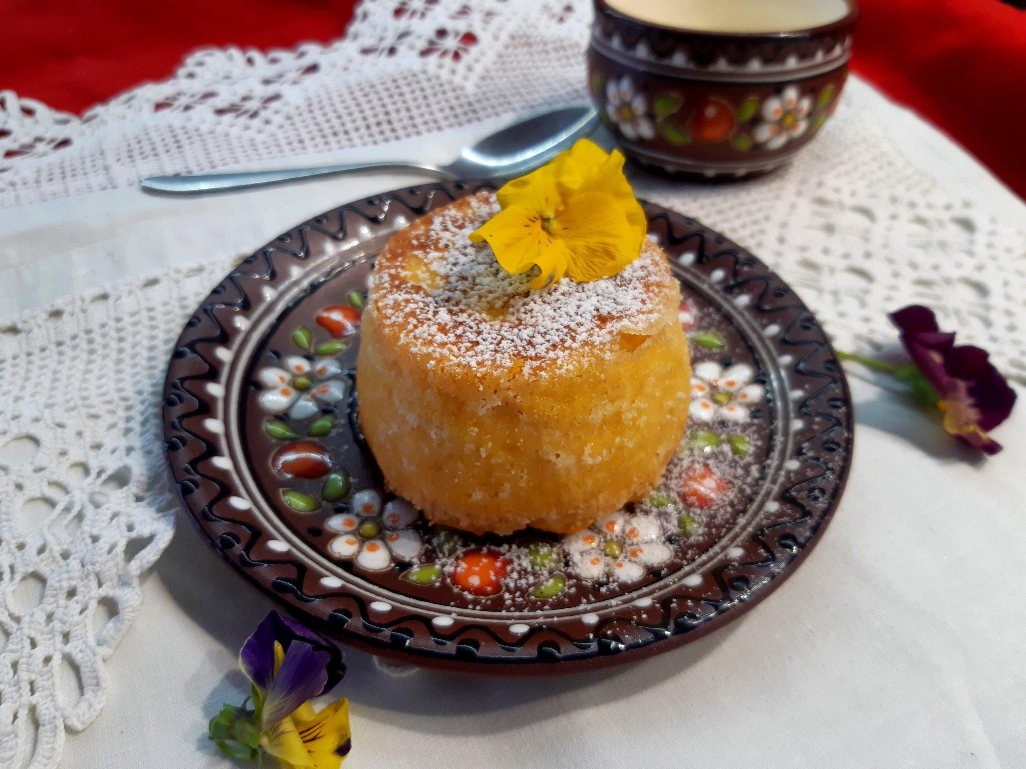 Тыквенная бабка с сыром