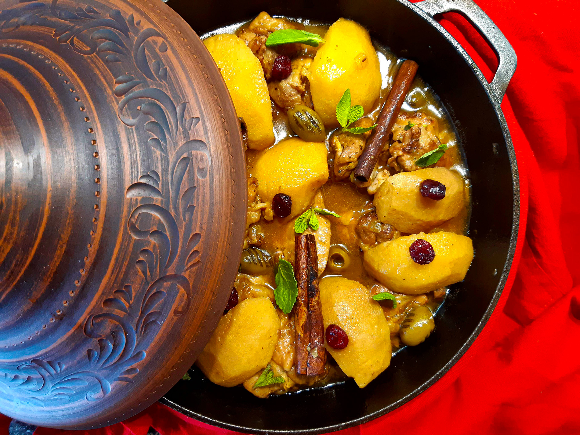 Tagine with Chicken and Quince
